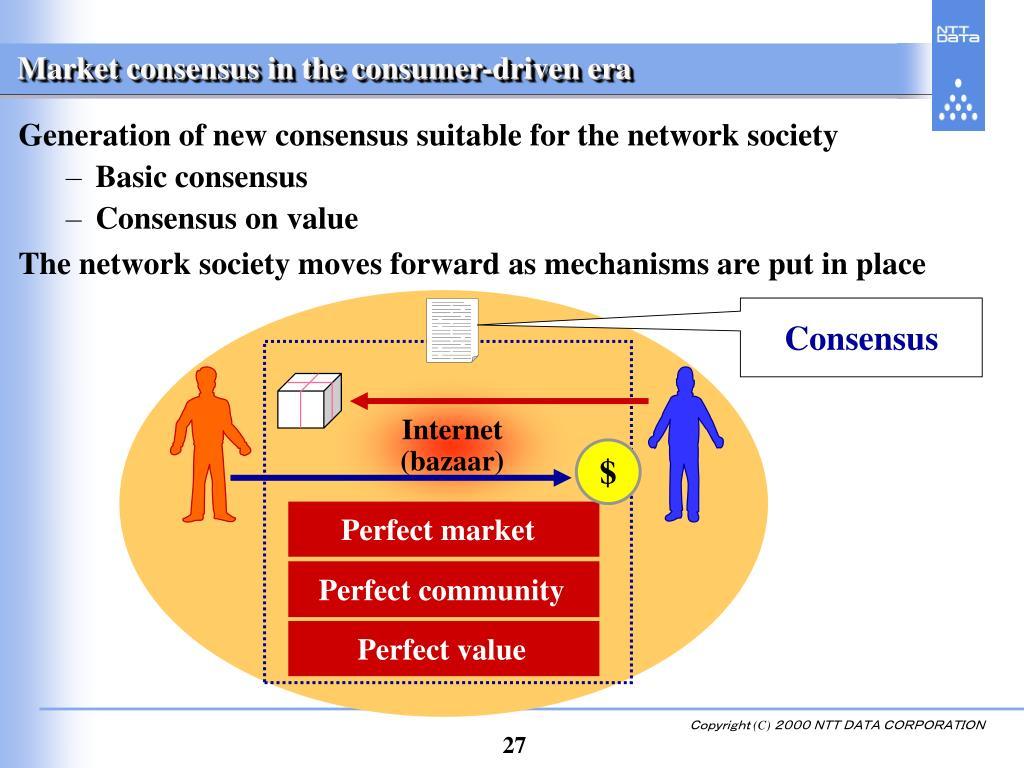 Market consensus in the consumer-driven era