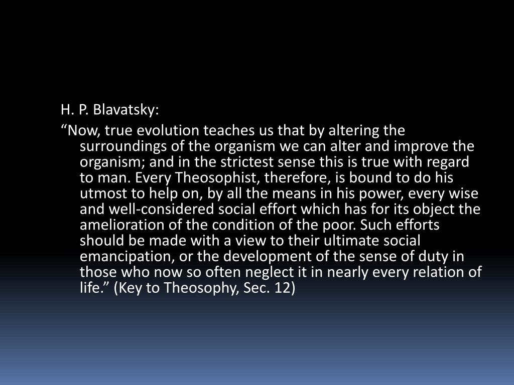 H. P. Blavatsky: