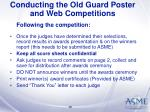 conducting the old guard poster and web competitions38