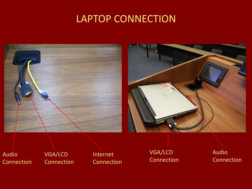 LAPTOP CONNECTION
