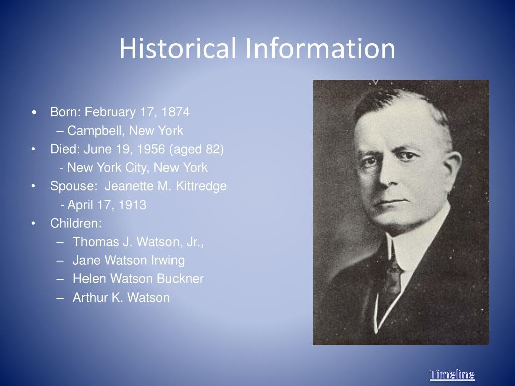 "Thomas Watson Jr Quotes: Thomas J. Watson ""World's Greatest Salesman"