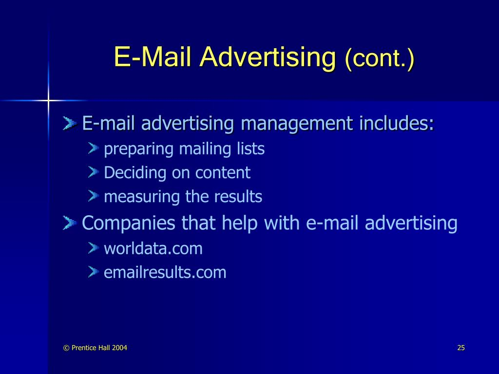 E-Mail Advertising