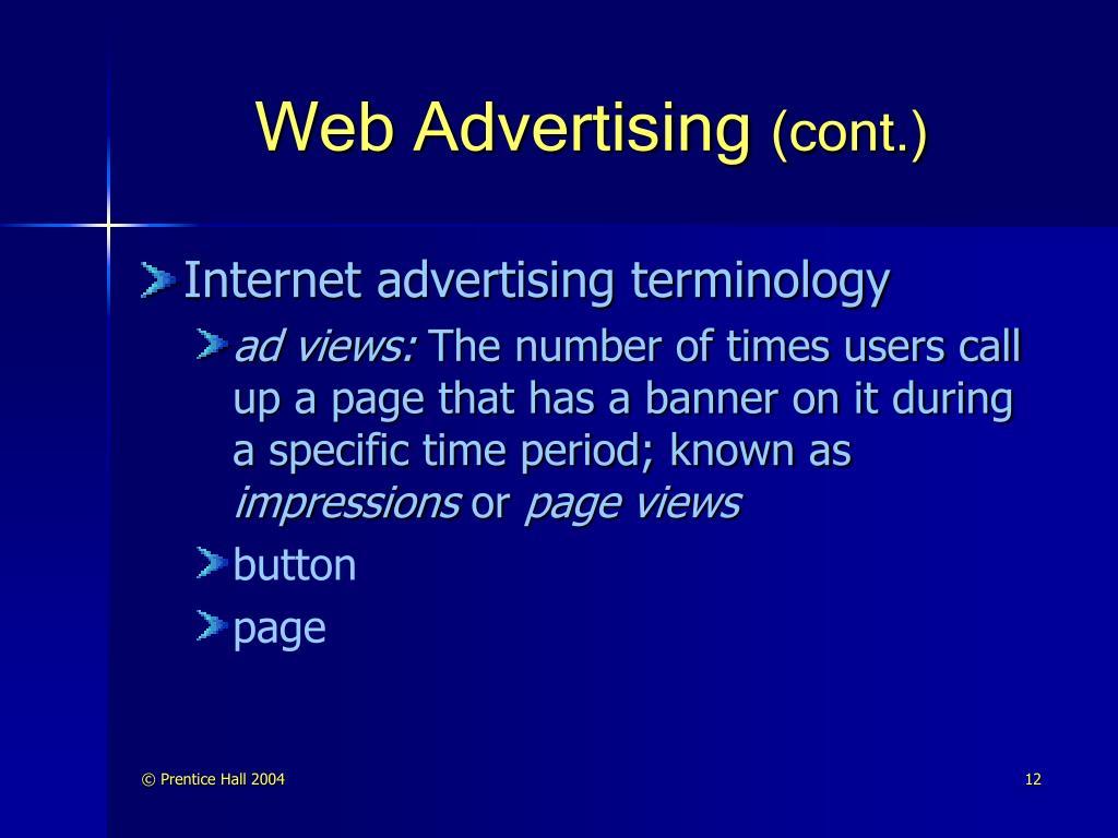 Web Advertising