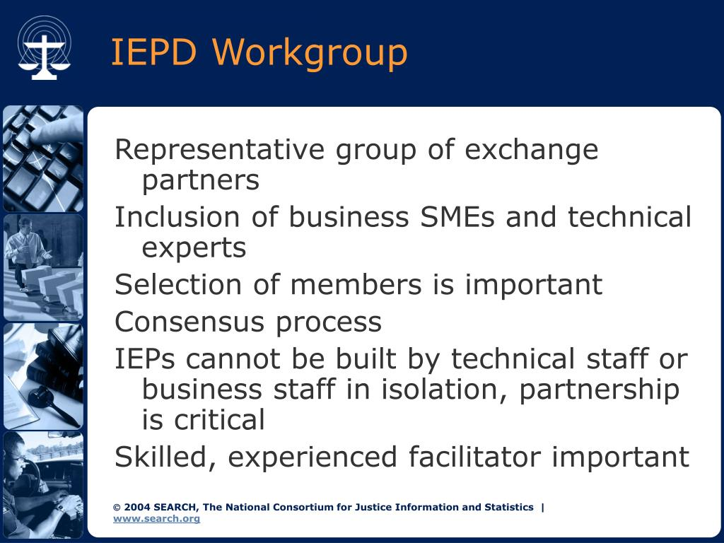 IEPD Workgroup