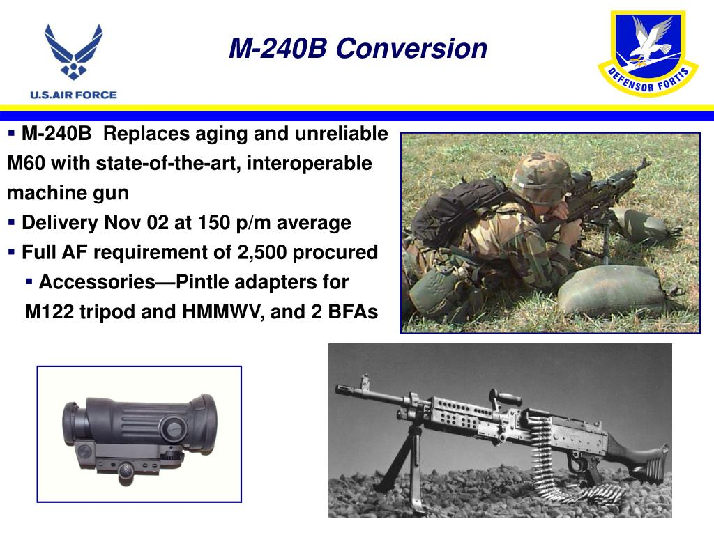 M-240B Conversion
