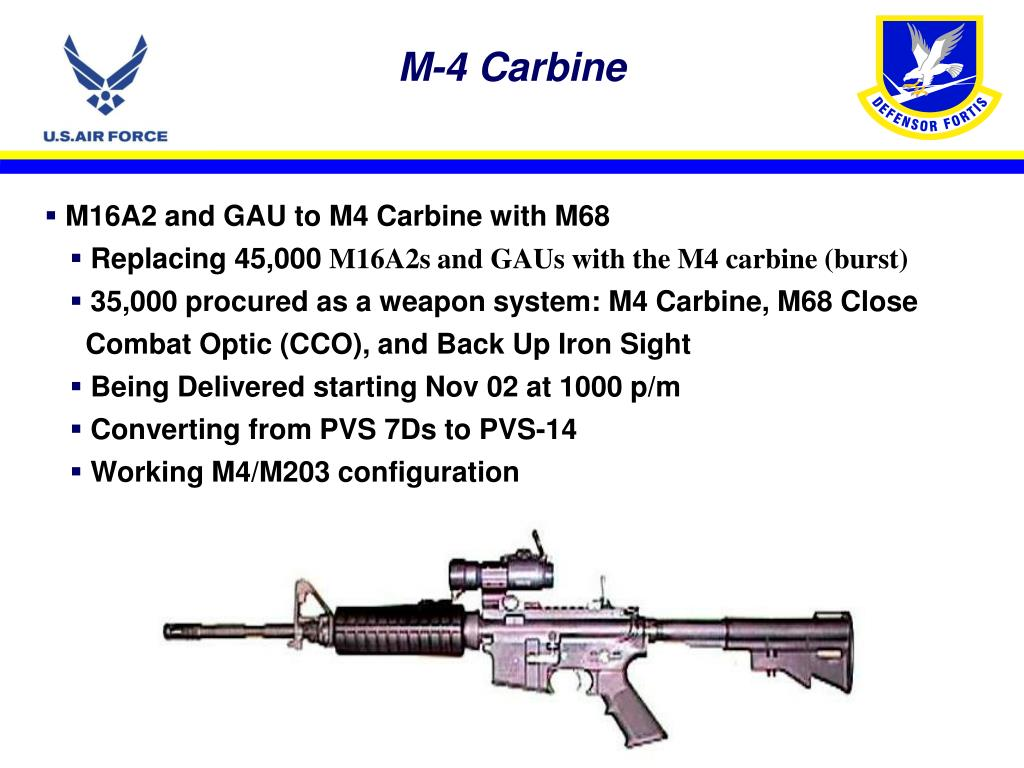 M-4 Carbine