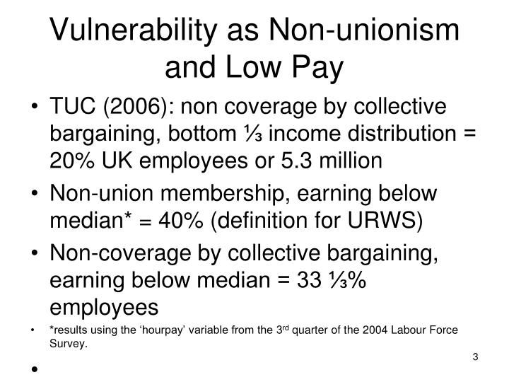 Vulnerability as non unionism and low pay l.jpg