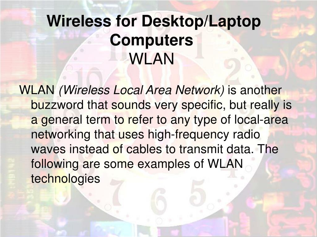 Wireless for Desktop/Laptop Computers