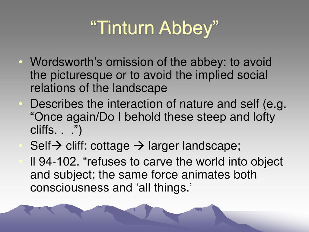 """Tinturn Abbey"""