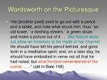 wordsworth on the picturesque