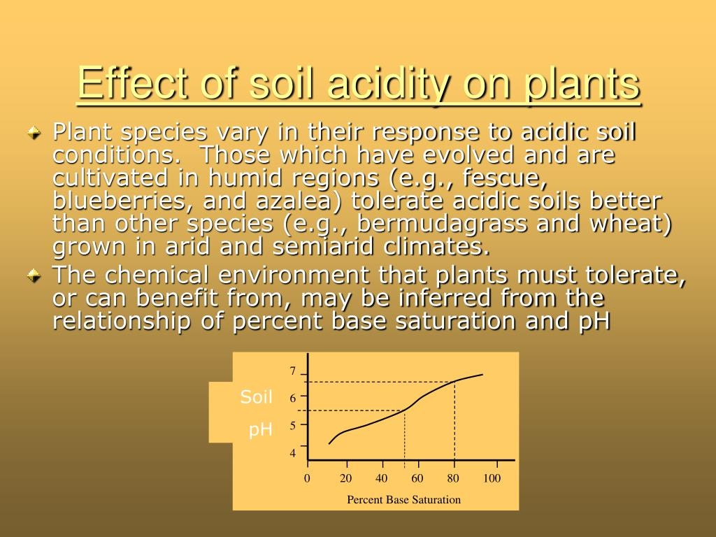 relationship between soil ph and base saturation