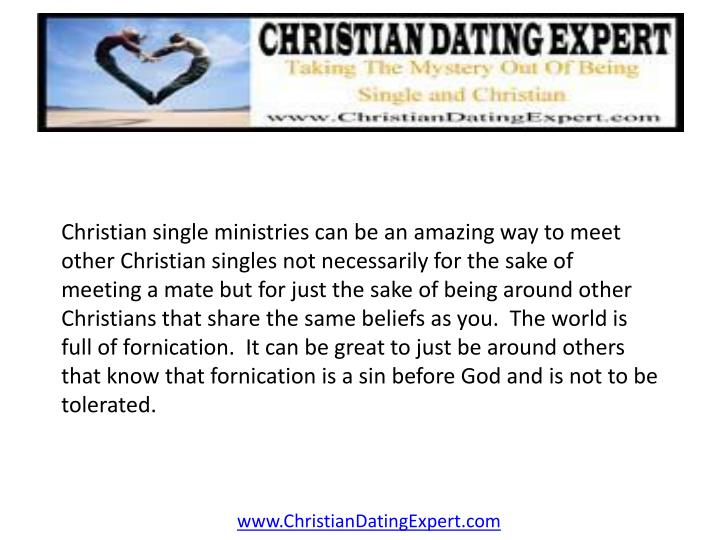 Christian single ministries can be an amazing way to meet other Christian singles not necessarily fo...