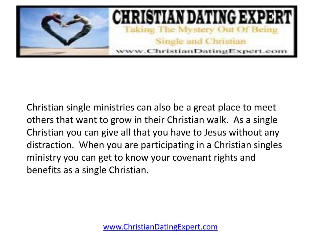 Christian single ministries can also be a great place to meet others that want to grow in their Christian walk.  As a single Christian you can give all that you have to Jesus without any distraction.  When you are participating in a Christian singles ministry you can get to know your covenant rights and benefits as a single Christian.