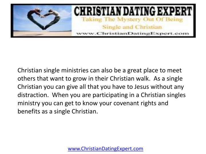 Christian single ministries can also be a great place to meet others that want to grow in their Chri...