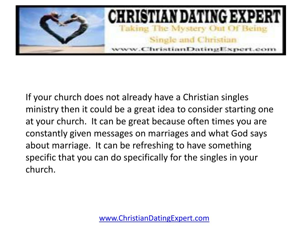 If your church does not already have a Christian singles ministry then it could be a great idea to consider starting one at your church.  It can be great because often times you are constantly given messages on marriages and what God says about marriage.  It can be refreshing to have something specific that you can do specifically for the singles in your church.