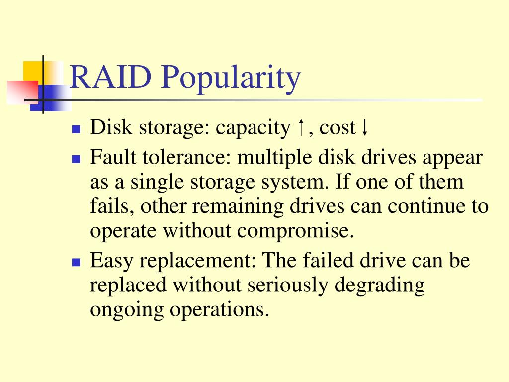 RAID Popularity