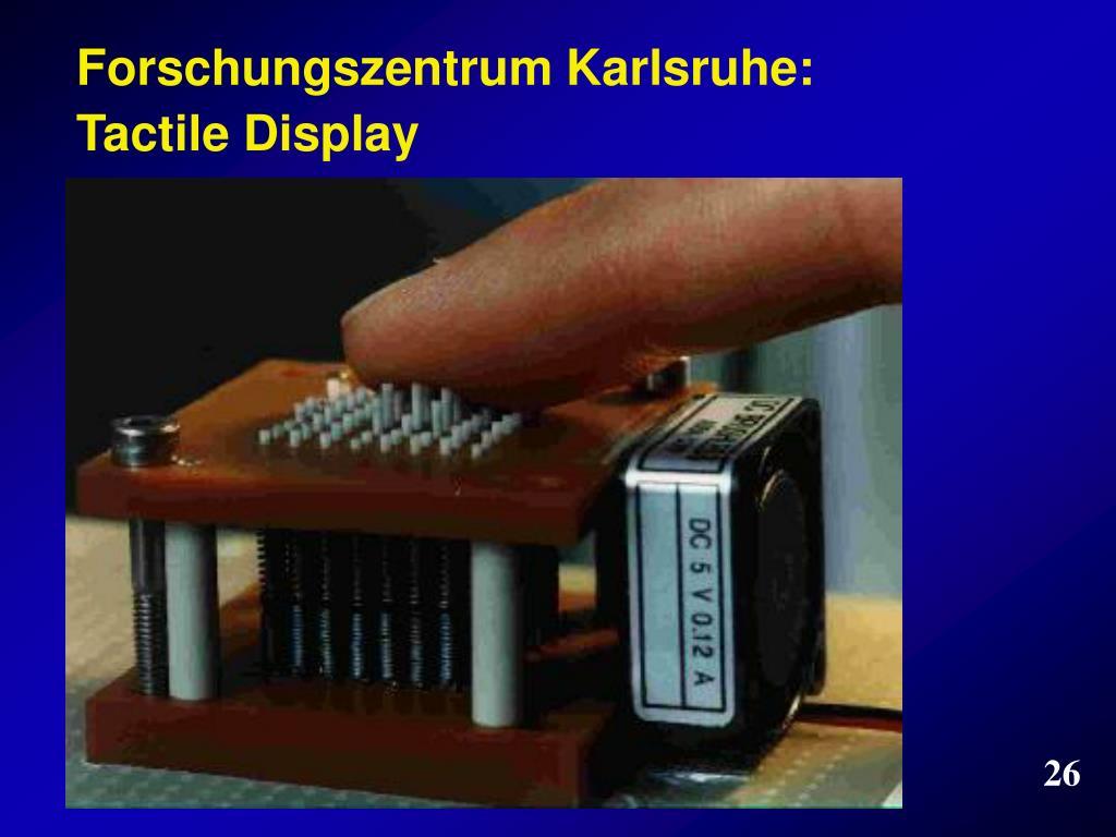Forschungszentrum Karlsruhe: