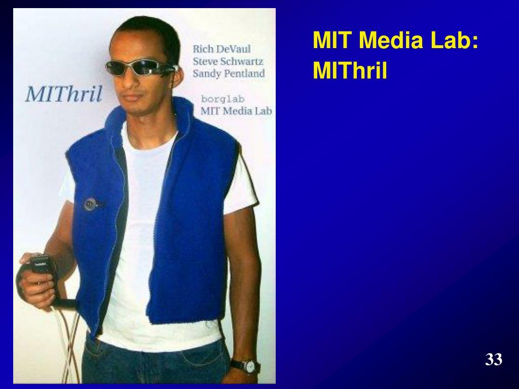 MIT Media Lab: