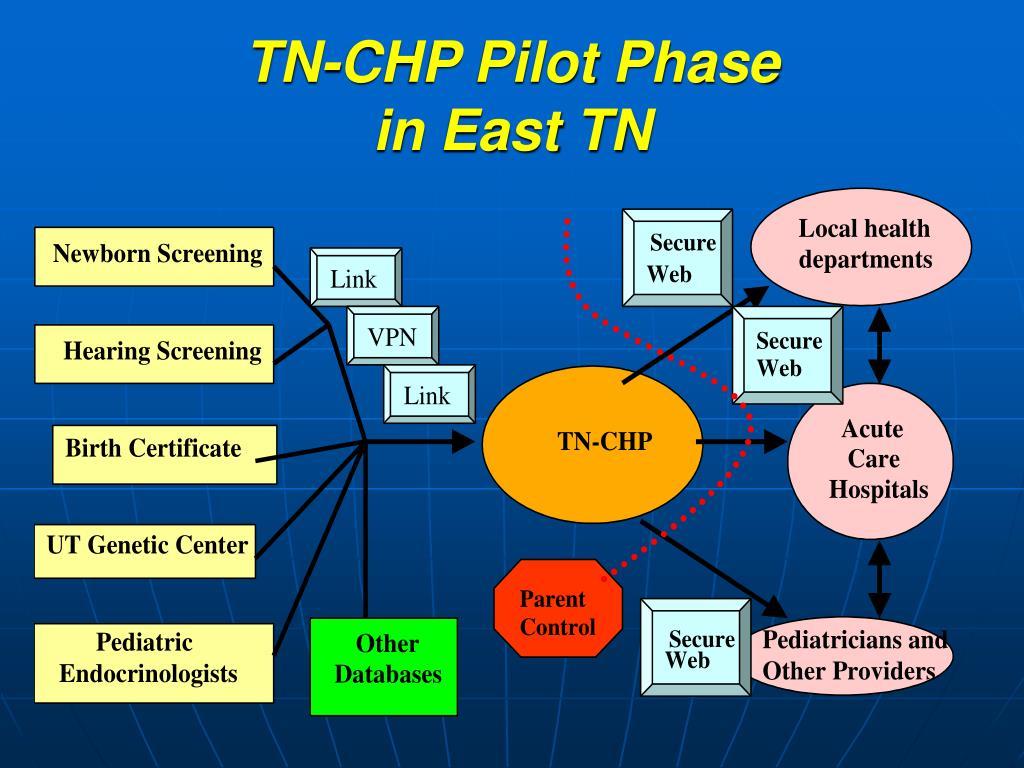 TN-CHP Pilot Phase