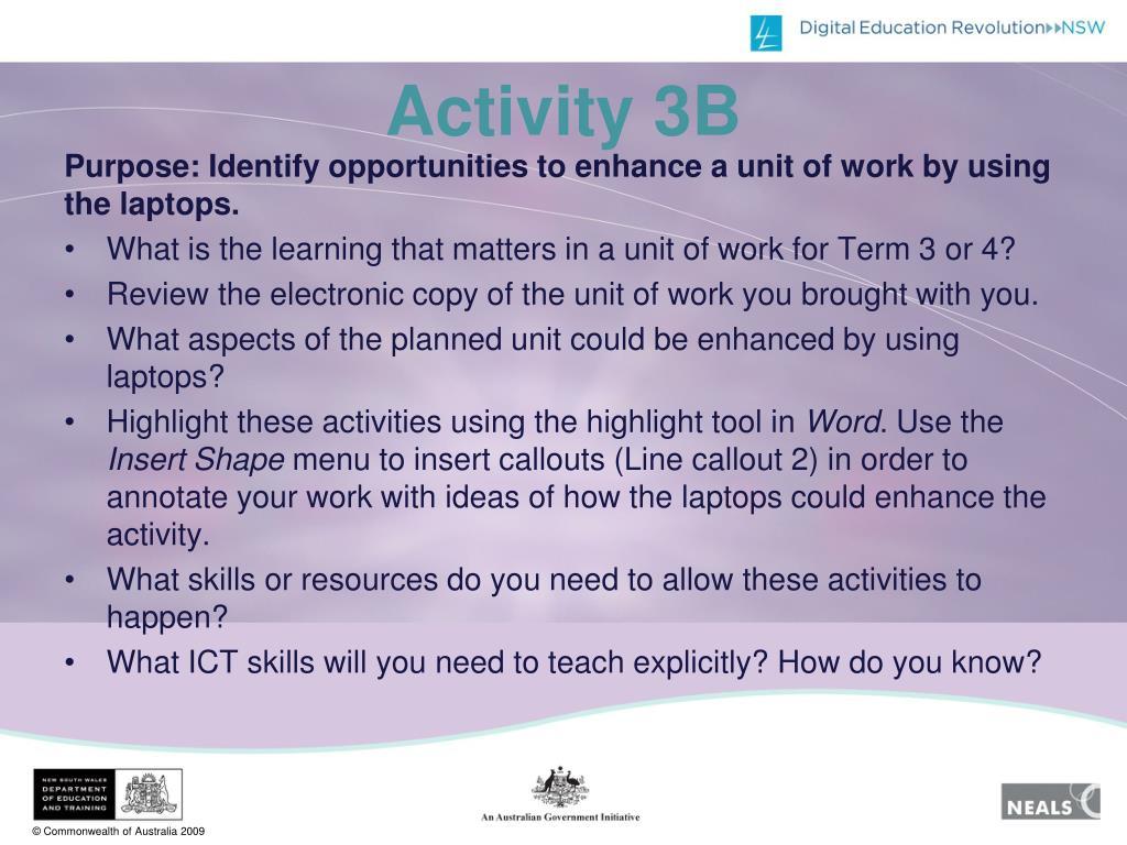 Activity 3B