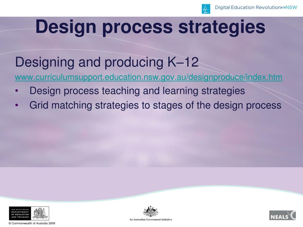 Design process strategies