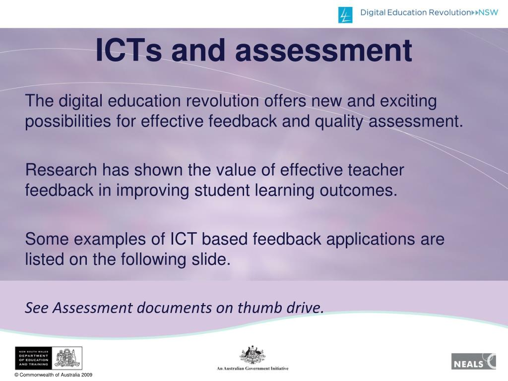ICTs and assessment