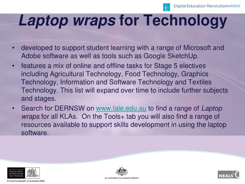Laptop wraps