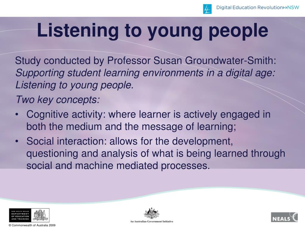 Listening to young people