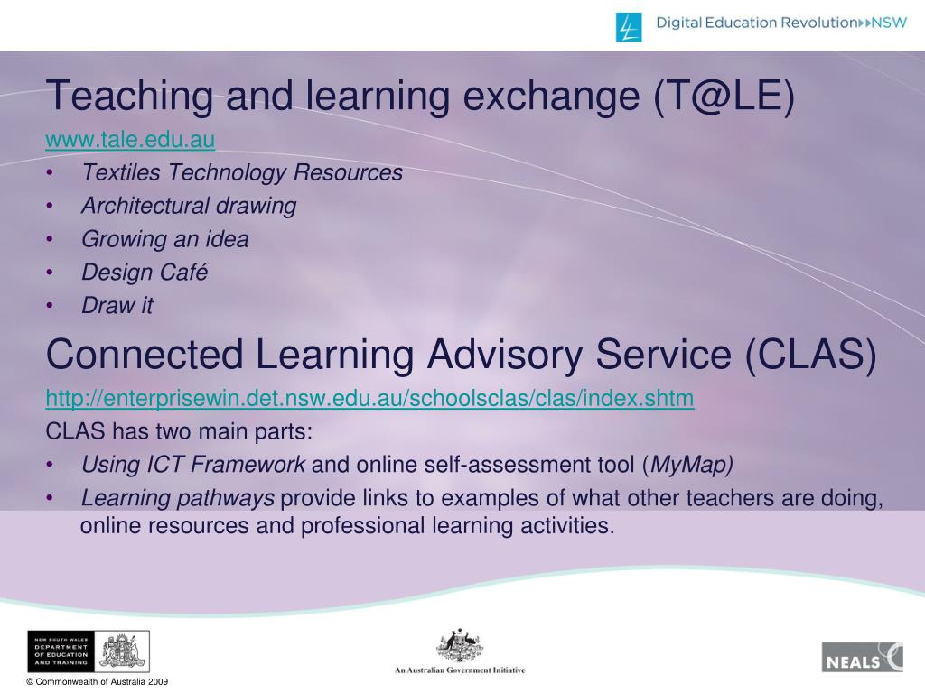 Teaching and learning exchange (T@LE)