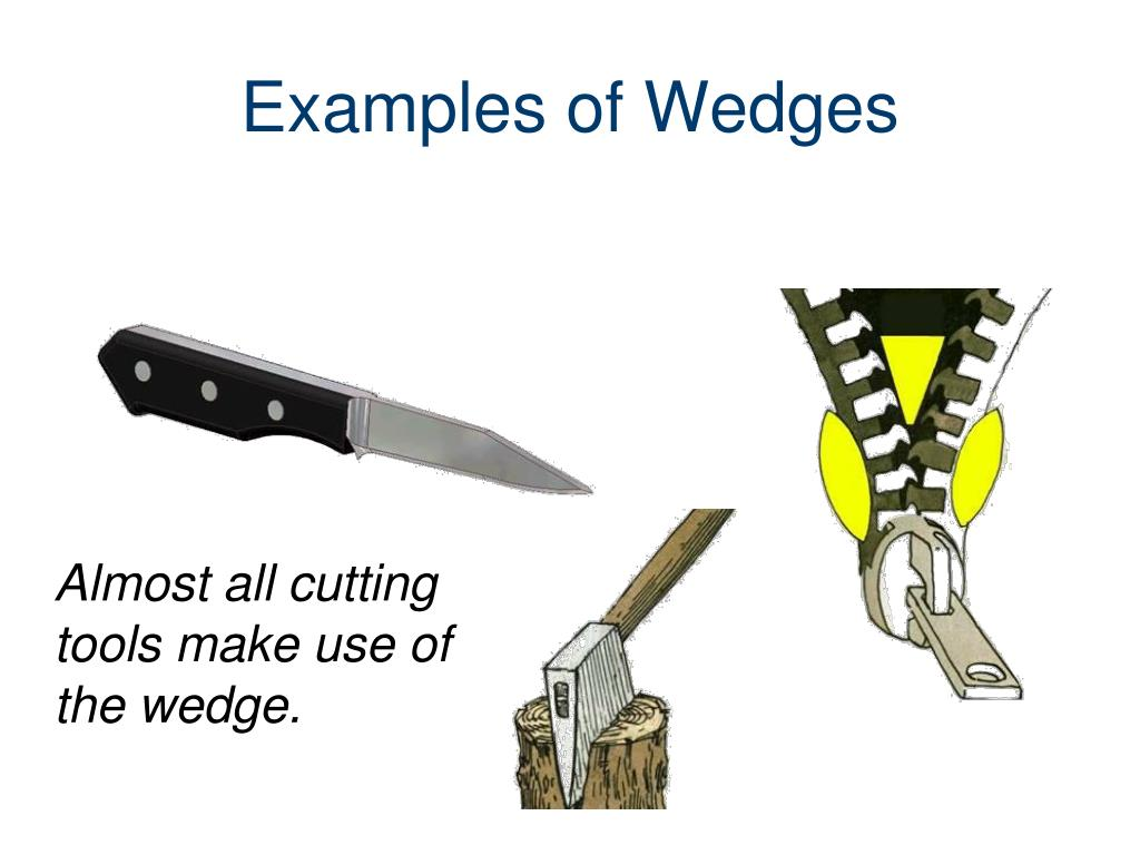 Examples Of Wedges PPT - Simple and Compo...