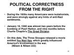 political correctness from the right