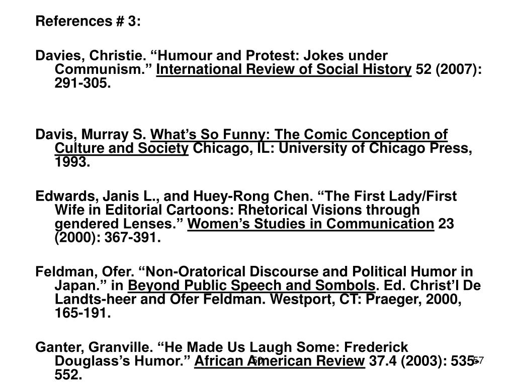 References # 3: