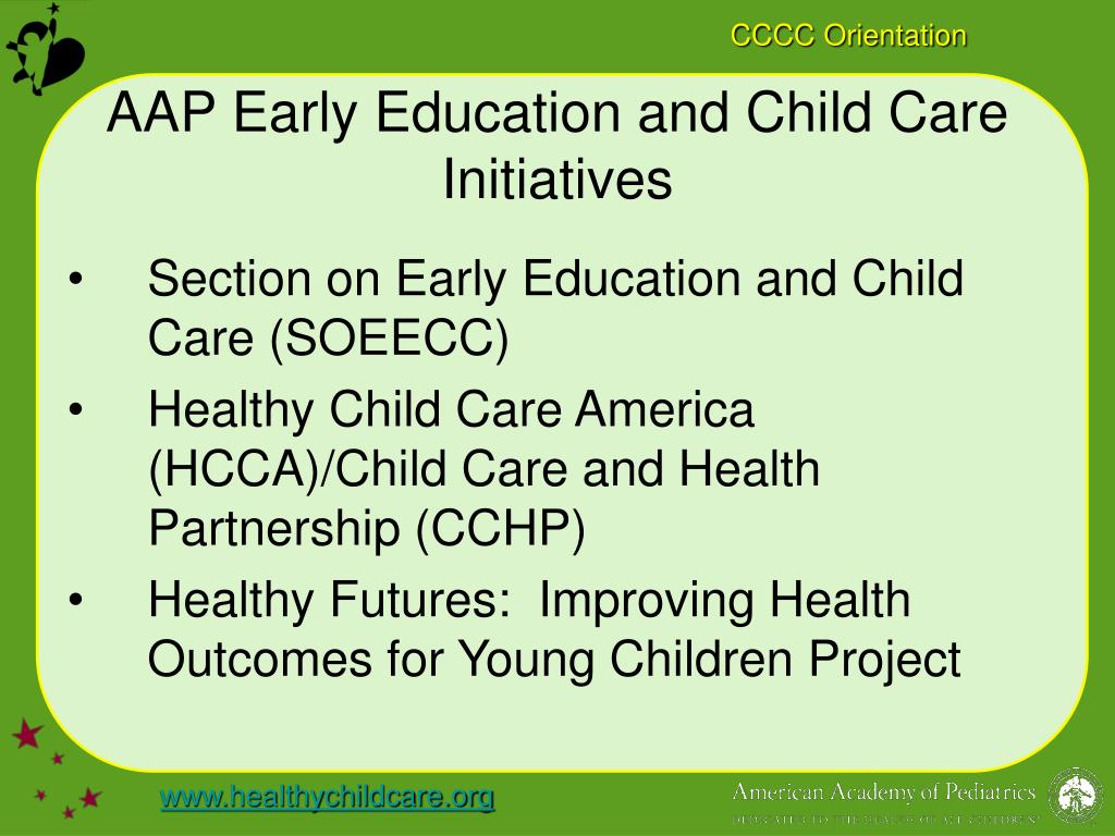 AAP Early Education and Child Care Initiatives