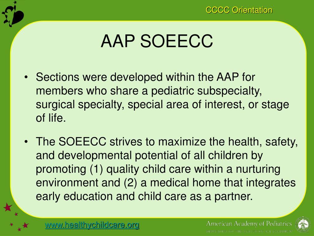 AAP SOEECC
