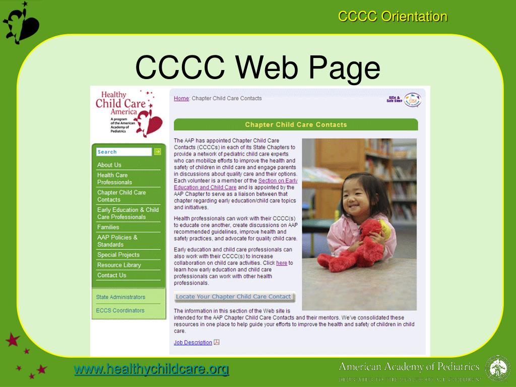 CCCC Web Page