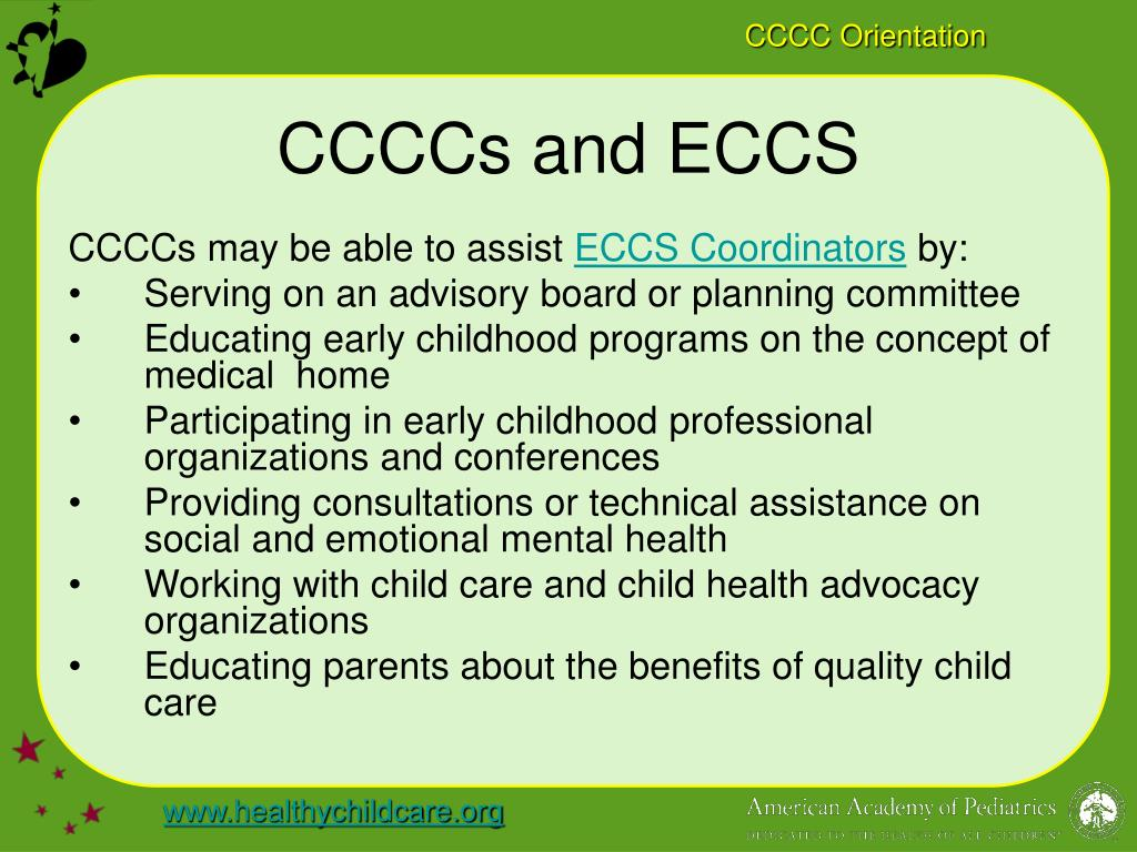 CCCCs and ECCS