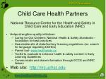 child care health partners