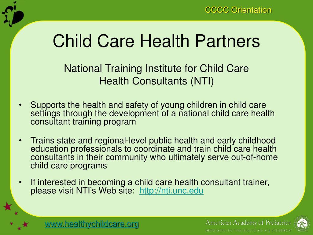 Child Care Health Partners
