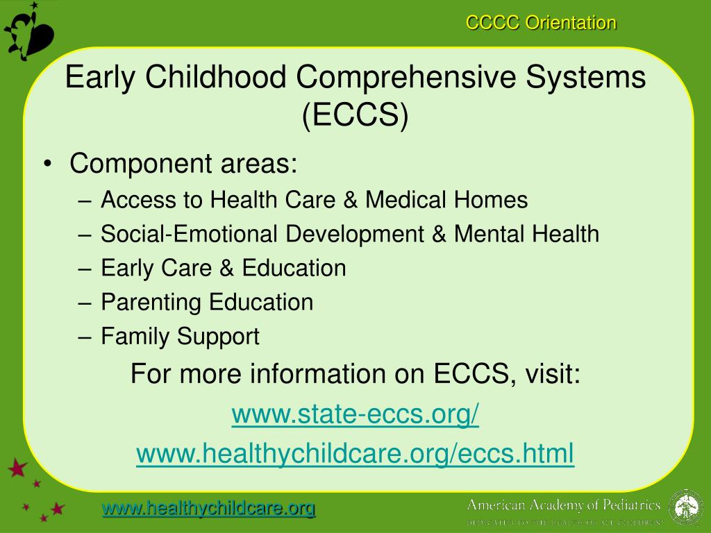 Early Childhood Comprehensive Systems (ECCS)