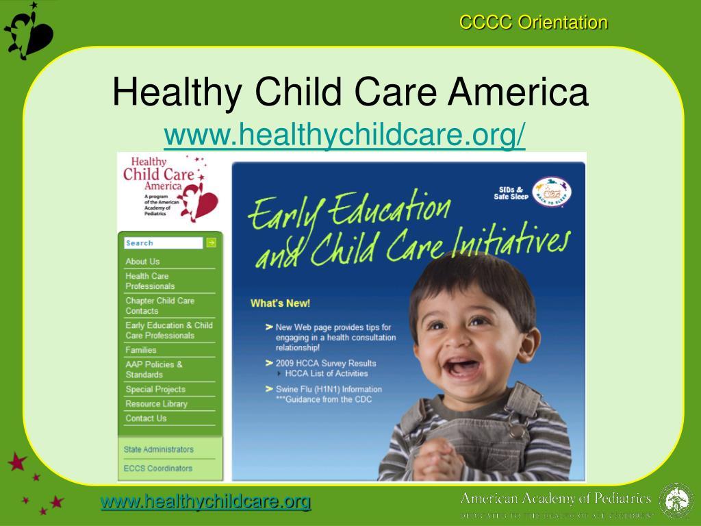 Healthy Child Care America