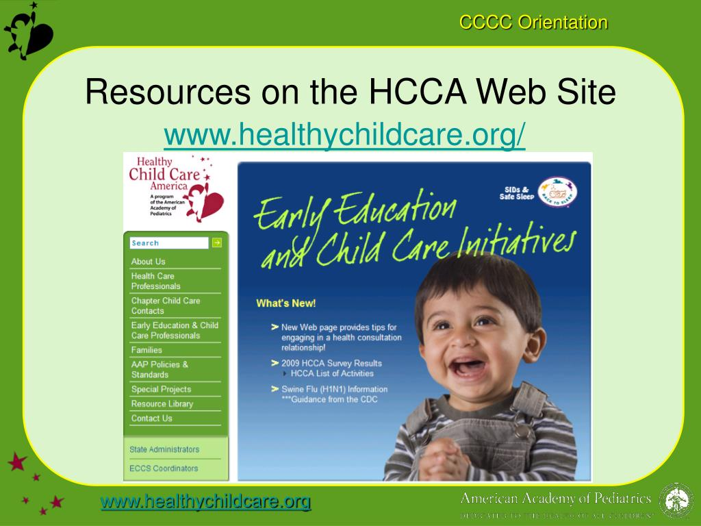Resources on the HCCA Web Site