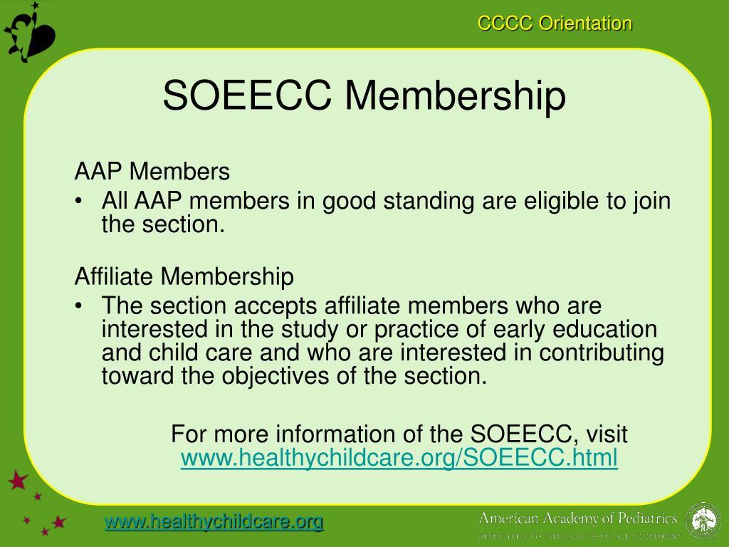 SOEECC Membership