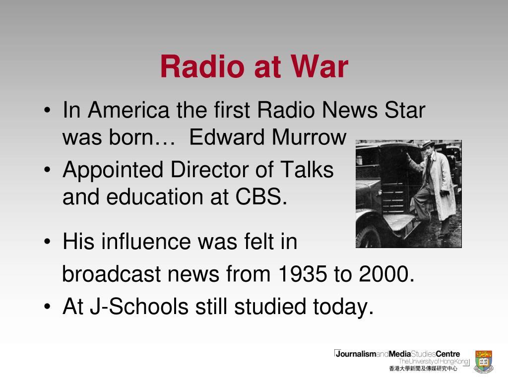 Radio at War