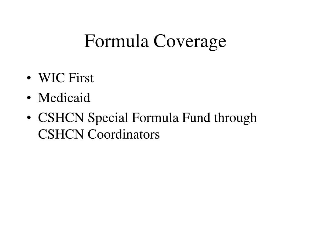 Formula Coverage