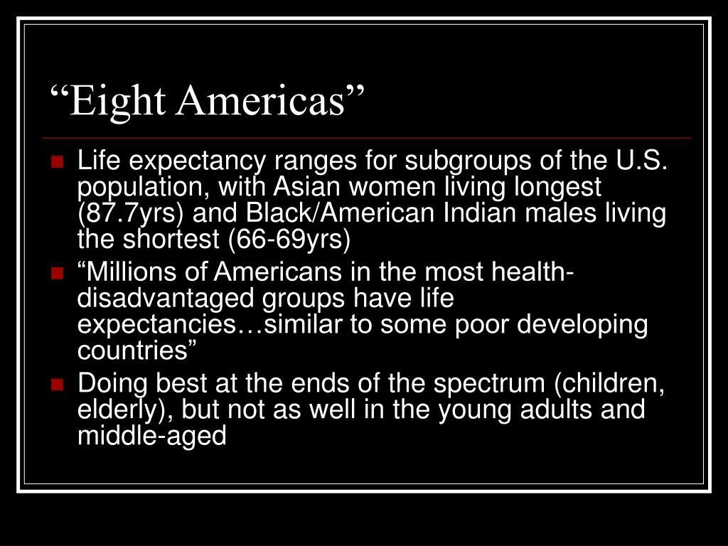 """Eight Americas"""