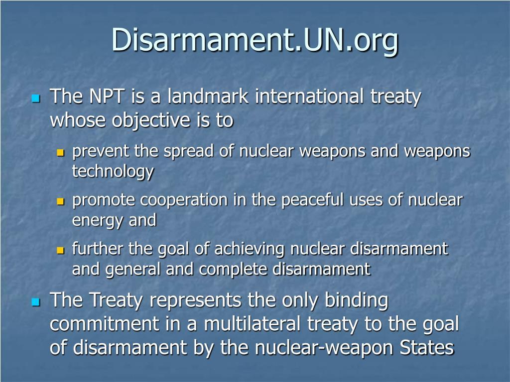 Disarmament.UN.org