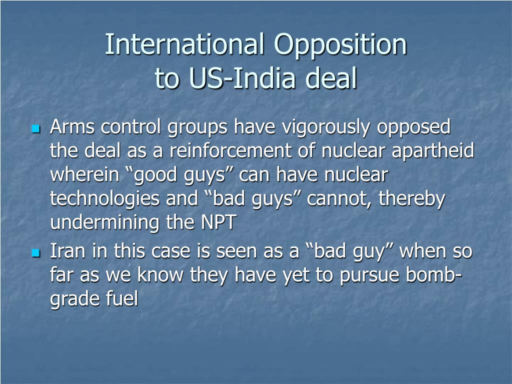 International Opposition