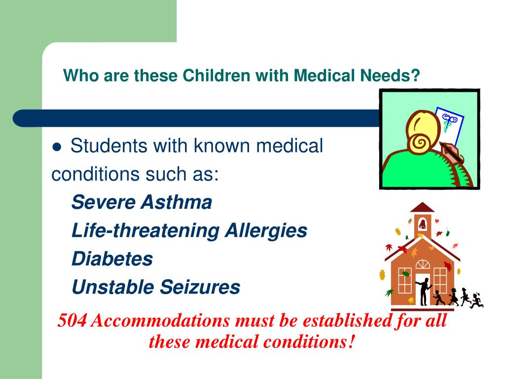 Who are these Children with Medical Needs?