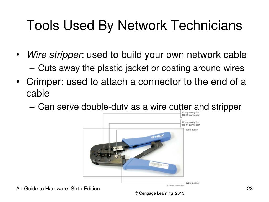 Tools Used By Network Technicians