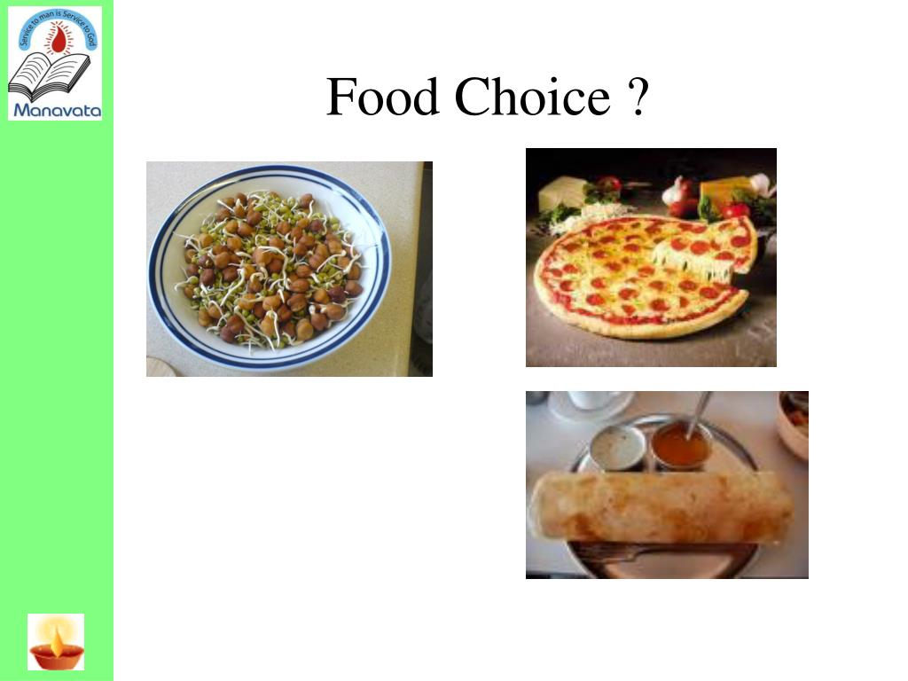 Food Choice ?